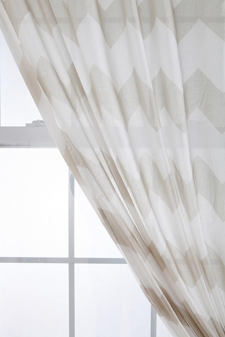 Zigzag Curtain | Curtains, Chevron and Black White Black And White Chevron Curtains