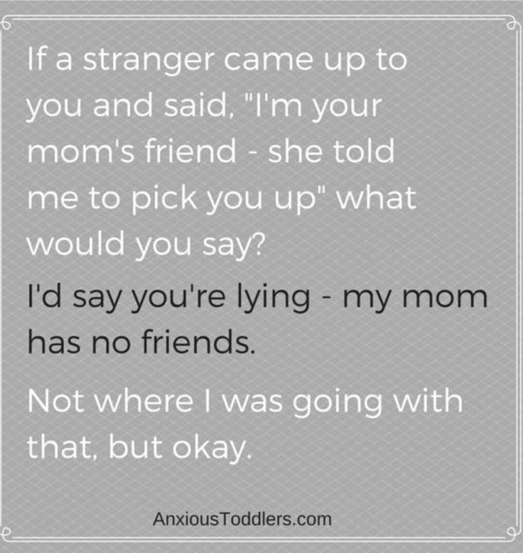 Why do I feel like my kids would say this...