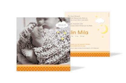 Geburtskarte Elin