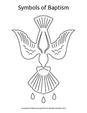 catholic church symbols coloring pages - photo#18