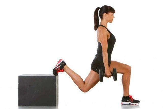 Mantén tu rodilla a salvo con la sentadilla búlgara
