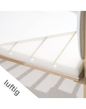 Matratze BABYBAY® MIDI (81x40) extraluftig mit Klimabezug
