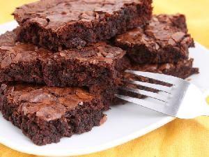 Receta de verdaderos brownies