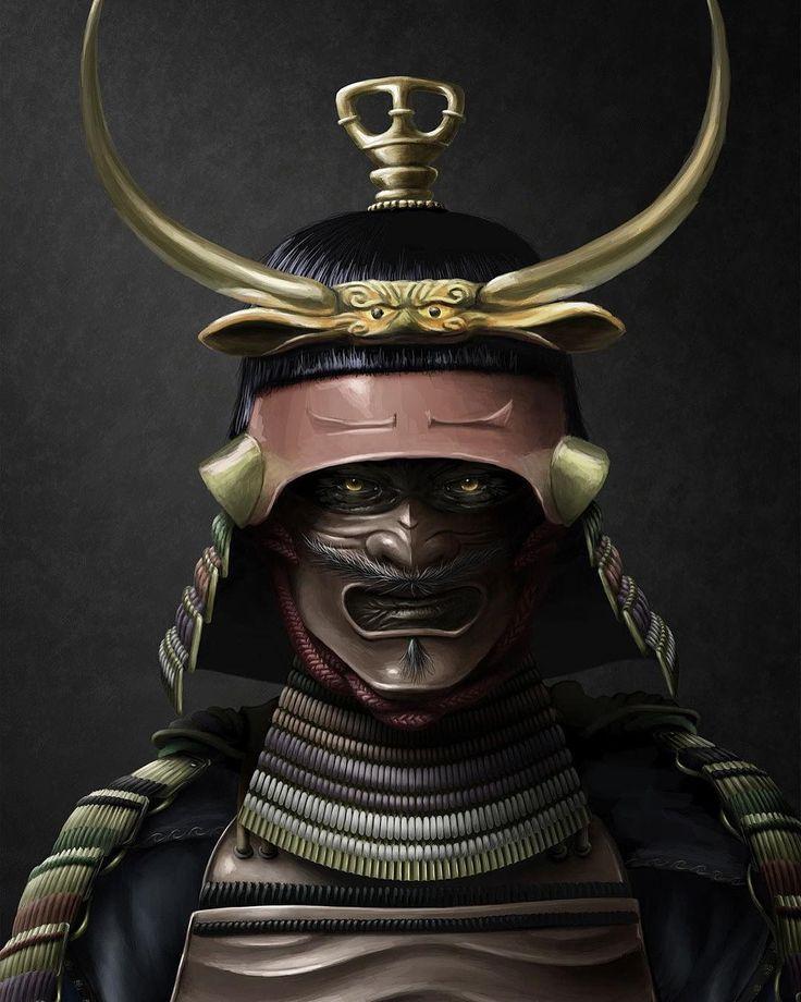 картинки японского самурая