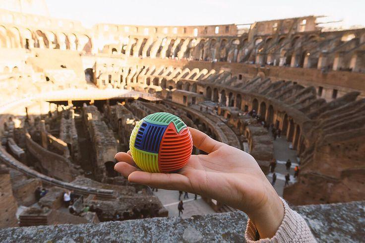 Thank you for sending us this brilliant photo of Slida in Rome!! #slida #travelbug #wheninrome