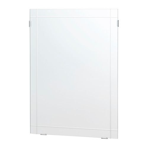 IKEA - EIDSÅ, Mirror, The mirror can be hung vertically or horizontally to suit your needs and space.Suitable for use in most rooms, and tested and approved for bathroom use.Safety film  reduces damage if glass is broken.