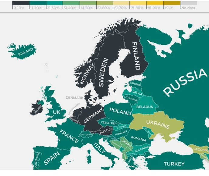 Best Countries In Europe To Retire: 17 Best Images About Informative Maps On Pinterest