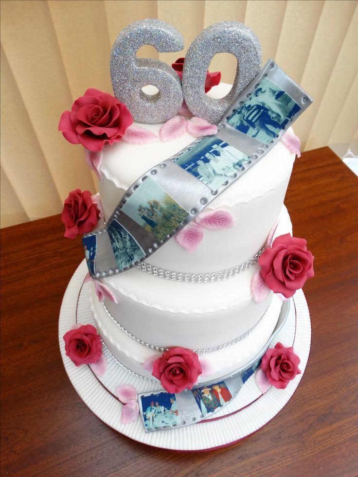 60th Wedding Anniversary Cake xMCx