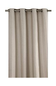 CHAMBRAY 145X225CM EYELET CURTAIN