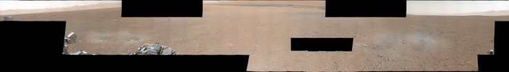 High-Res White-Balanced version of partial #Mars #Curiosity panorama   (10000×1420)