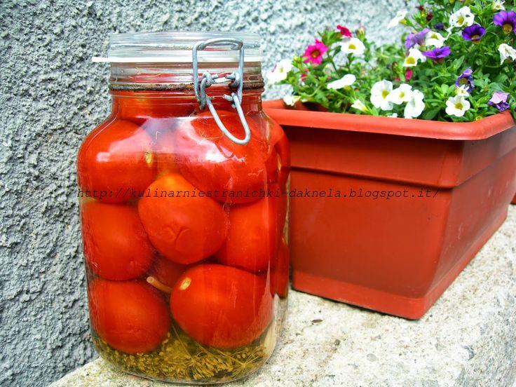 Мои кулинарные странички: Очень вкусные маринованные помидоры! (пост…