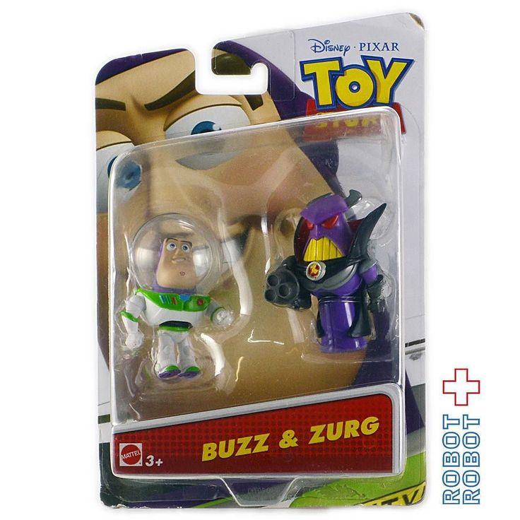 マテル トイストーリー ミニバズミニザーグ フィギュア Mattel TOY STORY Buzz & Zurg Figure #ToyStory #トイストーリー  #ピクサー #Pixar #Disney #ディズニー #アメトイ #アメリカントイ #おもちゃ  #おもちゃ買取 #フィギュア買取 #アメトイ買取 #vintagetoys #中野ブロードウェイ #ロボットロボット  #ROBOTROBOT #中野 #トイストーリー買取  #ピクサー買取 #WeBuyToys