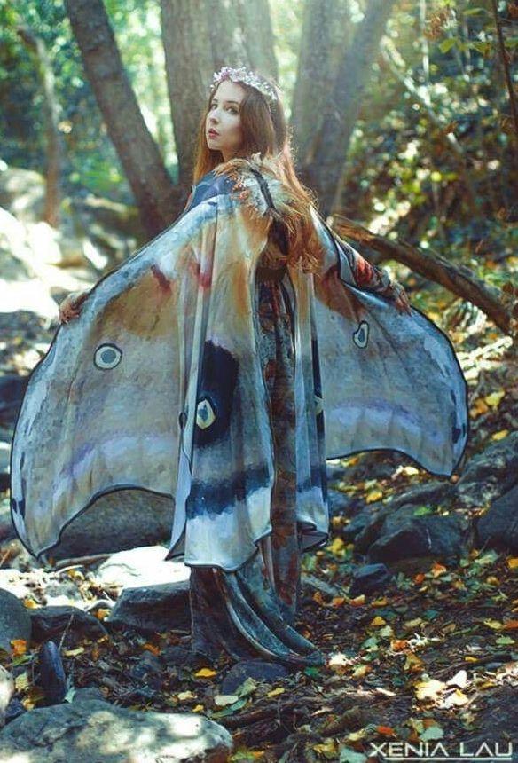 mooth butterfly fairy cloak <3