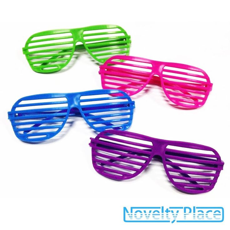 novelty place [party stars] 80's party shutter shades sunglasses for kids  from $19.0