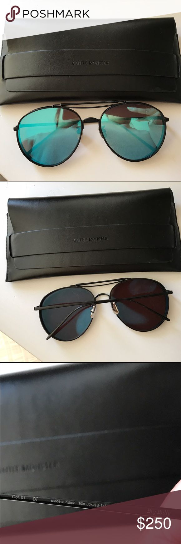 🛍🎉Gentle Monster Big Bully Sunglasses 🛍🎉Gentle Monster Big Bully Sunglasses. Blue reflective lens   ♡ Pre-loved. Excellent Condition. Worn ONCE! ✖️No Trades ☆ Authentic 。◕‿◕。 βundle and Save! gentle monster Accessories Sunglasses
