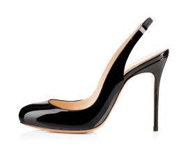 Women's high heel round toe sandals