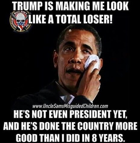 Weeeeell, actually you've made yourself look like a loser. Have you looked at Your Democratic Party, N. Korea, Iran, Russia, China, Cuba, Iraq, Syria, Yeman, European tourist attacks, San Bernardino Christmas terror killings, Orlando nightclub terrorist killing, race relations, the uptick in the killing of Police, Chicago, Baltimore, Ferguson MS, the US/Mexico border, Illegal invader crimes, and there's more and more.