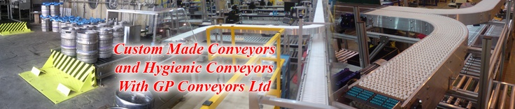 Materials handling and custom made conveyors - Here at GP Conveyors we specialise in conveyor system design, manufacture, installation and servicing. From conveyor belt systems and gravity belts systems, to packaging machines and materials handling systems.