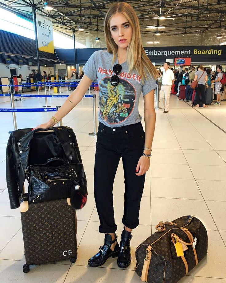Chiara Ferragni's Casual-Chic Airport Style Is Everything — Bloglovin'—the Edit
