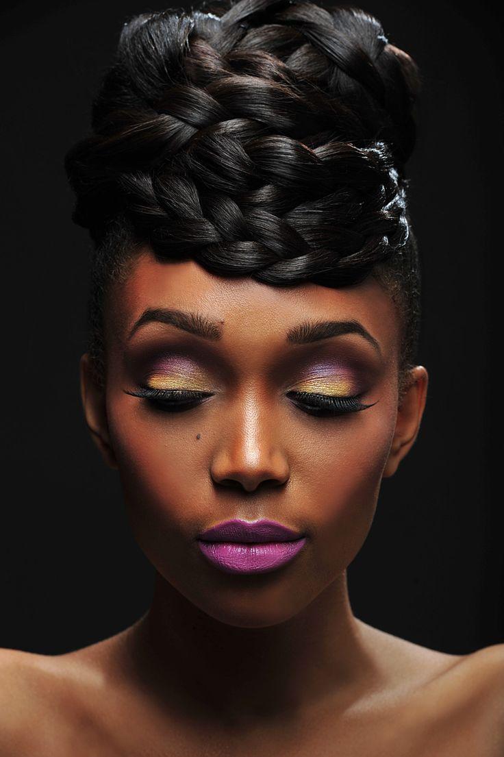 makeup black women dark