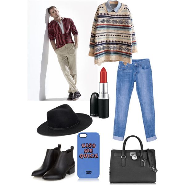 A fashion look from January 2015 featuring Michael Kors handbags, Markus Lupfer tech accessories and Forever 21 hats. Browse and shop related looks.