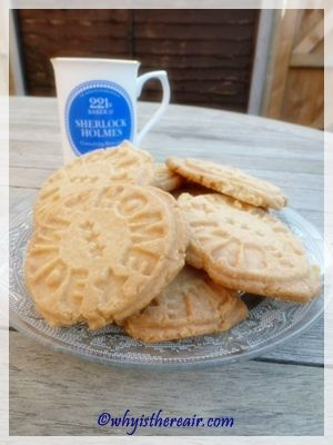 Home Made Thermomix semolina shortbread cookies