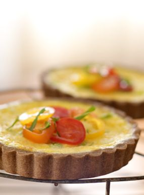 ... Tef Crusts, Crusts Baking, Teff Crusts, Quiches Recipe, Corn Quiches
