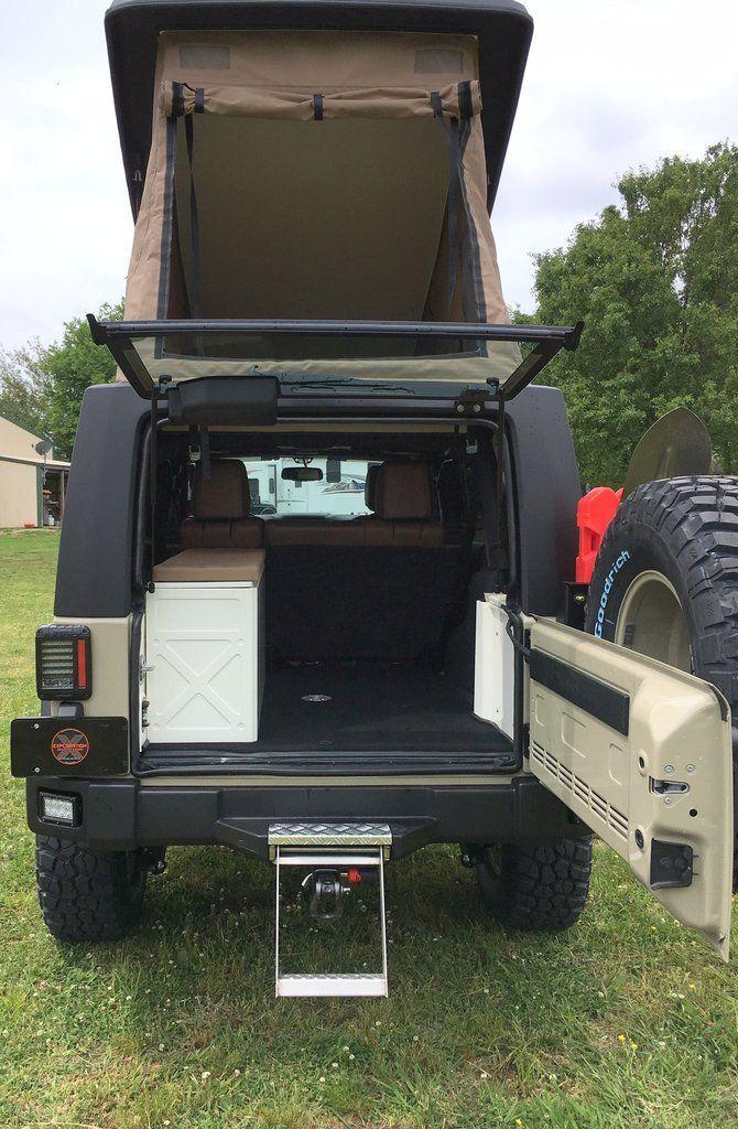 Overland Expo West >> American Safari/Gazelle Jeep JKU - JXL Conversion Kit ...