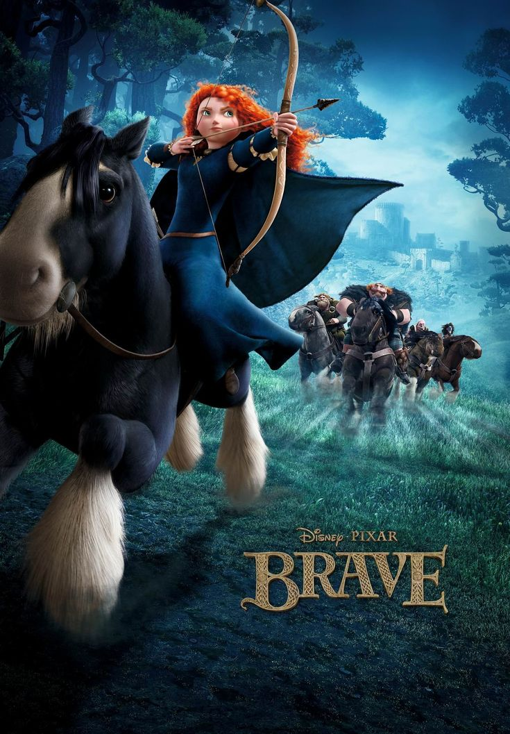I ADORE this movie. I mean it features gorgeous music, the animation/scenery is breathtaking, it's set in Scotland, the central character is a strong, independent young woman ... with red hair, did I mention its set in Scotland? , and it's Disney-Pixar. What's not to love?