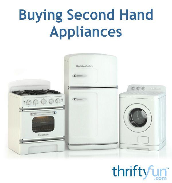 Buying Second Hand Appliances | Hand washing machine ...