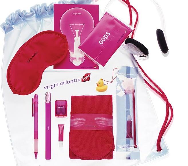 Virgin Atlantic - Airline Amenity Kit