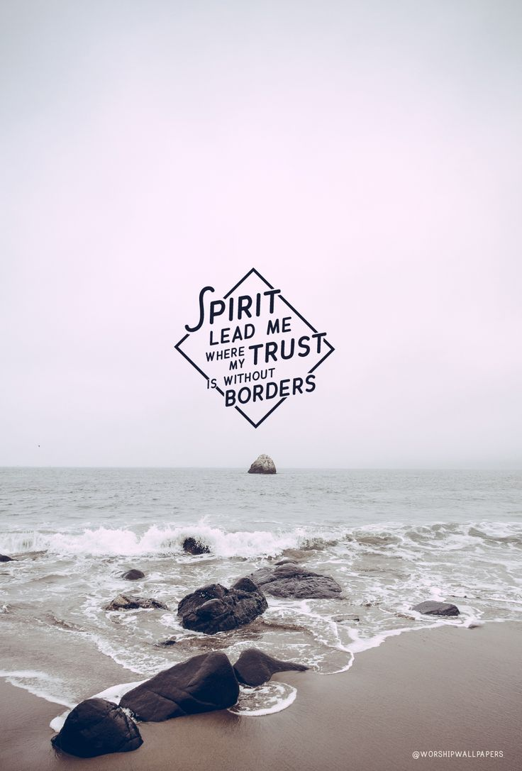 """Click images to preview and download. Listen to song here > [Worship wallpaper designed from """"Oceans"""" by Hillsong United for your phone screen, laptop wallpaper, and Facebook cover…"""