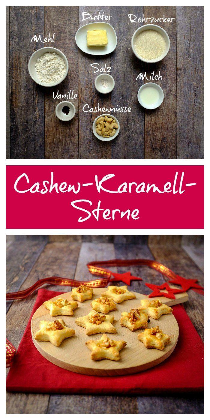 Plätzchen | Kekse | Weihnachten | einfach | schnell | lecker | Cashew | Karamell