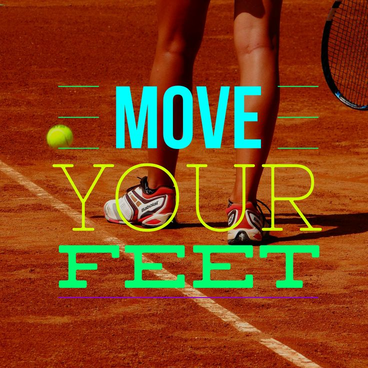 Simple Tennis Tip – Move Your Feet, simple yet sometimes so hard