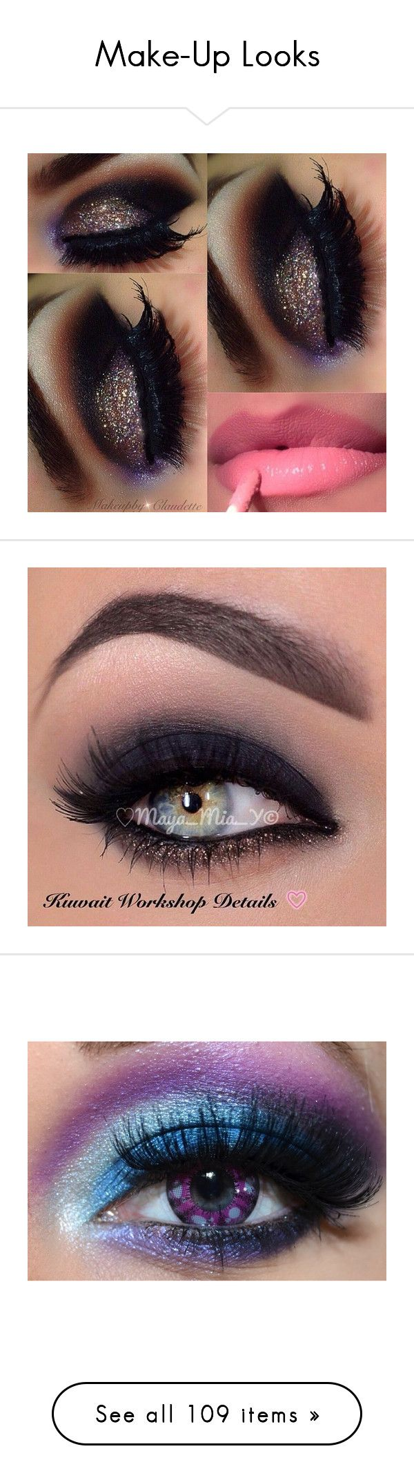 Make-Up Looks by jamzm ❤ liked on Polyvore featuring beauty products, makeup, mac cosmetics, eye makeup, eyes, beauty, halloween, eyeshadow, maquiagem and black eye makeup