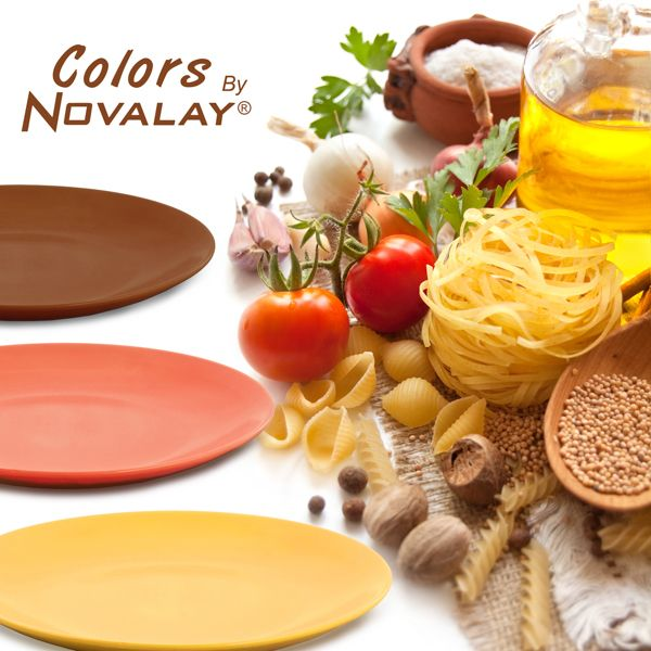 Colors by Novalay - Colurful Dinner Plates. #Color #plate #Dinner #Decoration  sc 1 st  Pinterest & 53 best Novalay images on Pinterest | Dinner plates Dishes and Side ...