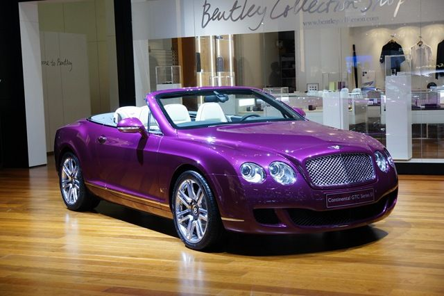 Bentley Continental Series - Bentley Continental GT - great car, horrible colour!