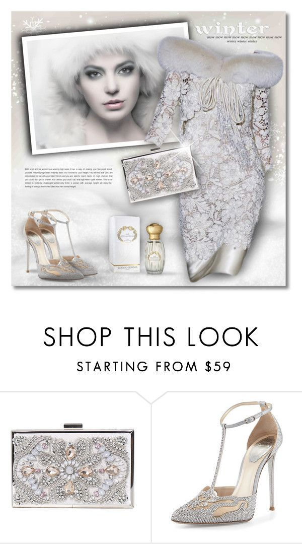 """Winter Fashion"" by debraelizabeth ❤ liked on Polyvore featuring René Caovilla and Annick Goutal"
