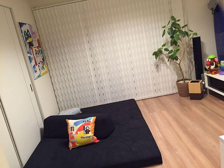 お客様のソファのある暮らし-大阪府 K様 フロフロ  ローソファ専門店 HAREM