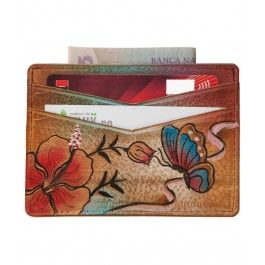 Maria, Ana-Maria, Anuschka! Iata un cadou potrivit pentru colega ta de Sf. Maria, un portcard piele Anuschka.