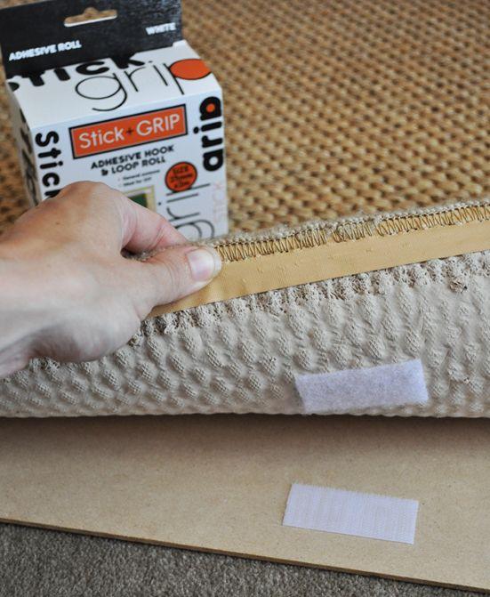 Keep Your Rug In Place #Carpet #DIY #Como Mantener La Alfombra En Su