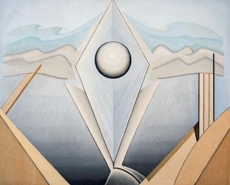 Lawren Harris - Abstract painting 98