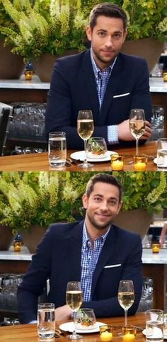 Zachary Levi... I mean... Is he not the most perfect man in the world.