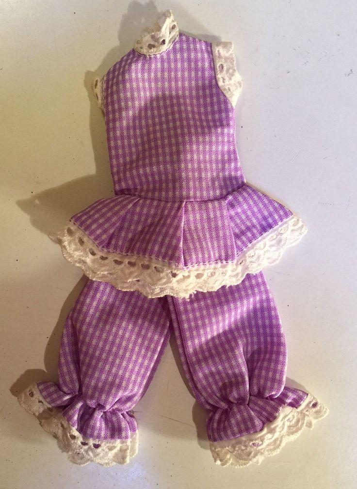 3 Vintage Faerie Glen Outfits For Pedigree Sindy / Barbie - Lilac White Blue | eBay
