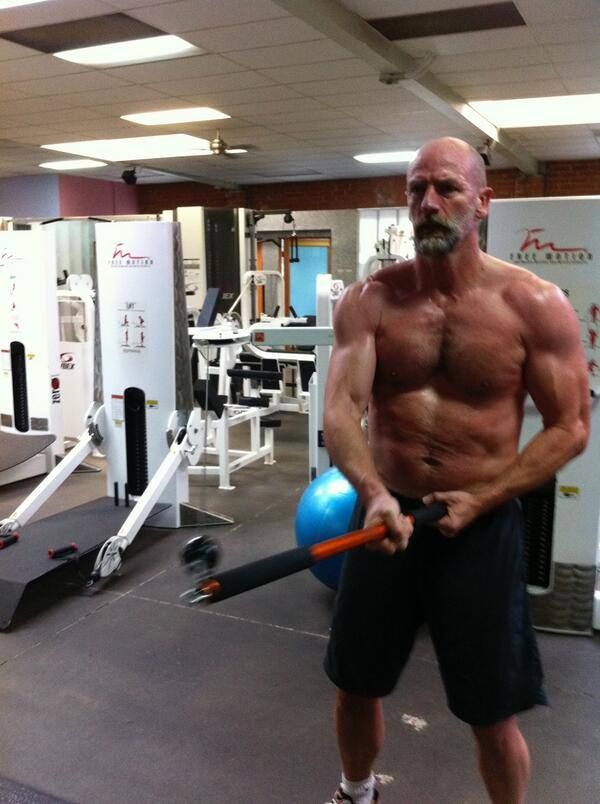Scottish actor Graham McTavish- oh my goodness, I dont know where to put this...beardy stuffs, Phew, or my geeky side!
