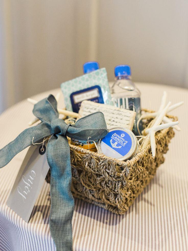 Beach Wedding Gift Basket : .com Wedding Welcome Basket Wedding Welcome Gifts Beach Wedding ...