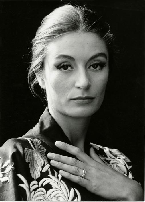 Herbert List Naples, 1961. French Actress Anouk AIMEE.
