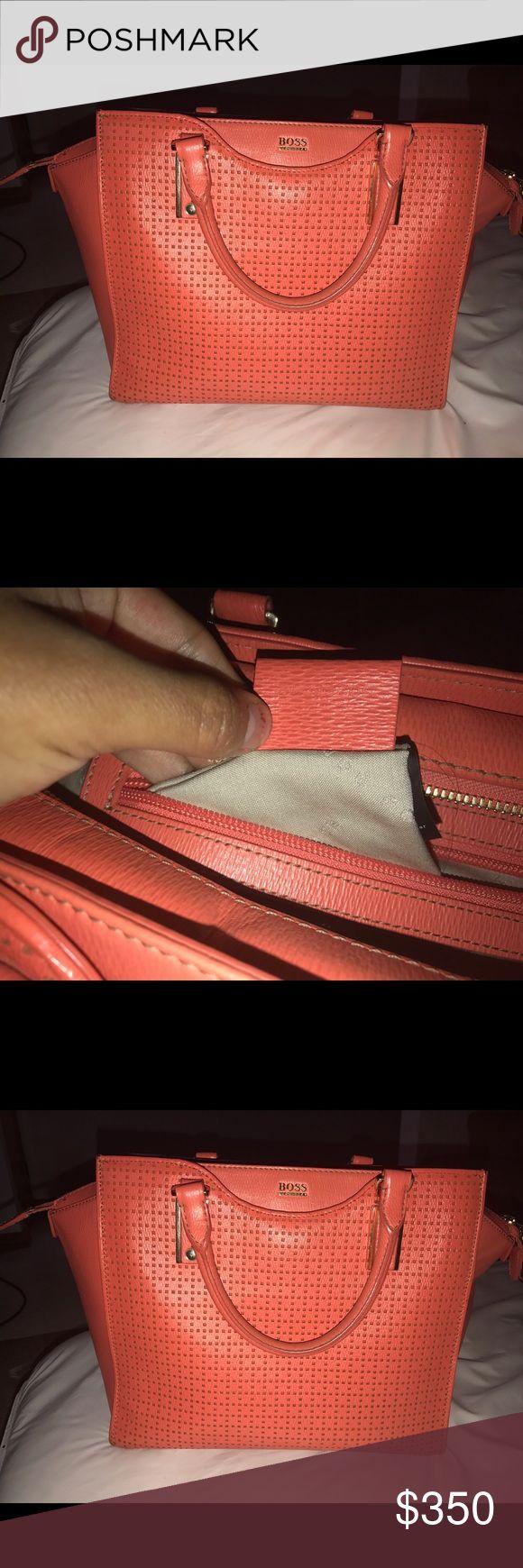 Hugo Boss Purse Orange for summer Hugo boss purse! Hugo Boss Bags Shoulder Bags