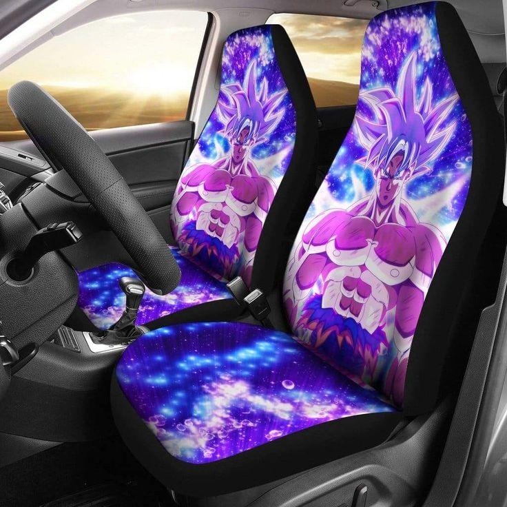 Goku mastered ultra instinct car seat covers amazing