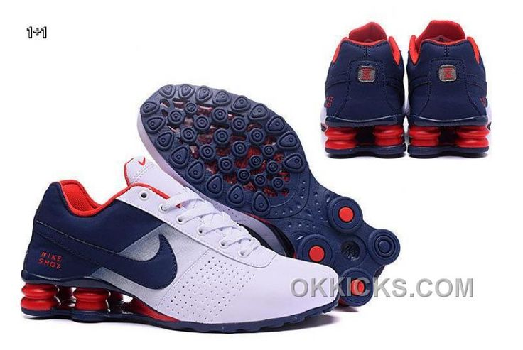 http://www.okkicks.com/nike-shox-deliver-2016-mens-shoe-dark-blue-white-red-new-style-e5bsyj.html NIKE SHOX DELIVER 2016 MENS SHOE DARK BLUE WHITE RED NEW STYLE E5BSYJ Only $66.05 , Free Shipping!